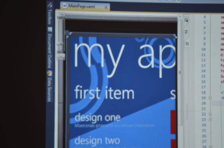 Windows Phone Labs Week 3