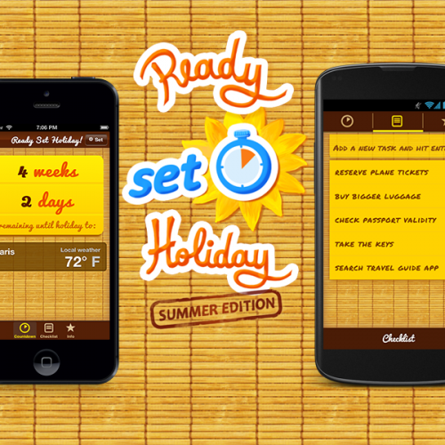 Apps - Ready Set holiday retro