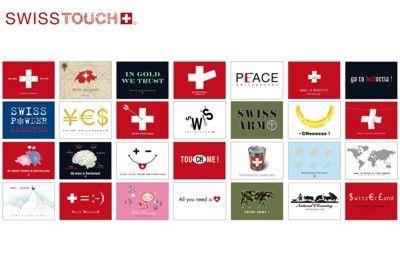 Swiss Design Cobalt Sign