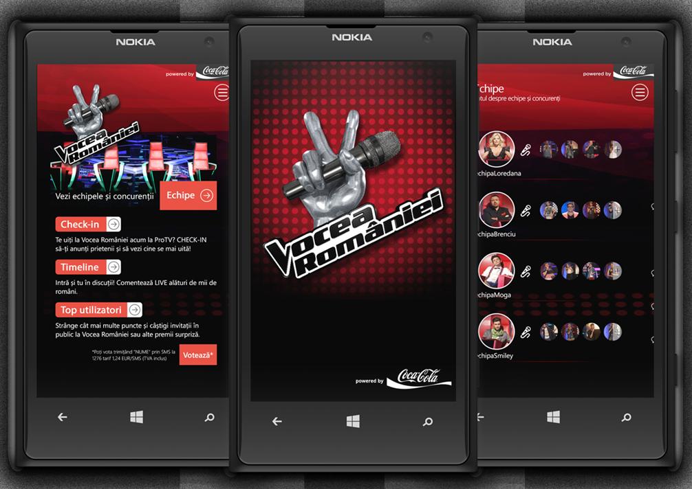 Vocea Romaniei - Windows Phone
