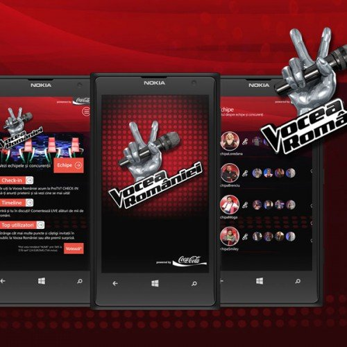 Apps - Vocea Romaniei Windows Phone