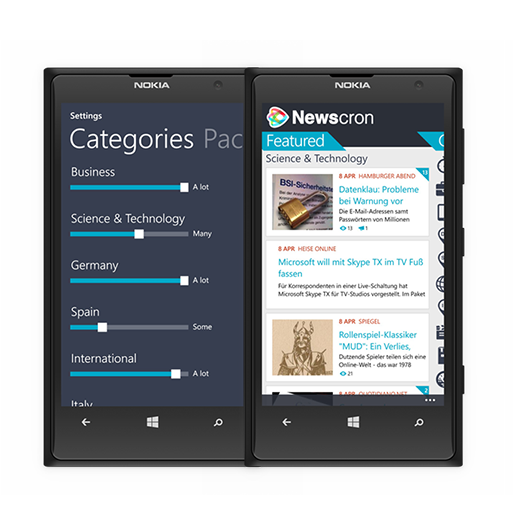 Smart News Aggregator Cobalt Sign | App Development Company
