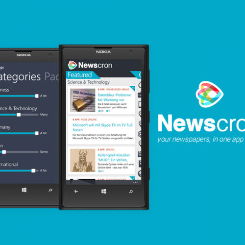 Apps - newscron Smart News Aggregator