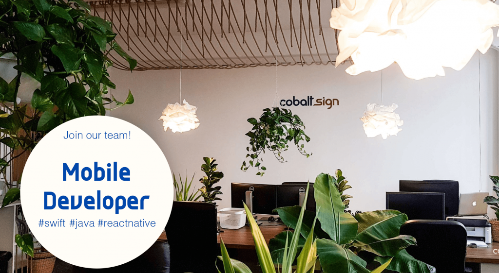 Cobalt Sign - Mobile Developer Jobs