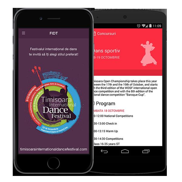 dance festival app