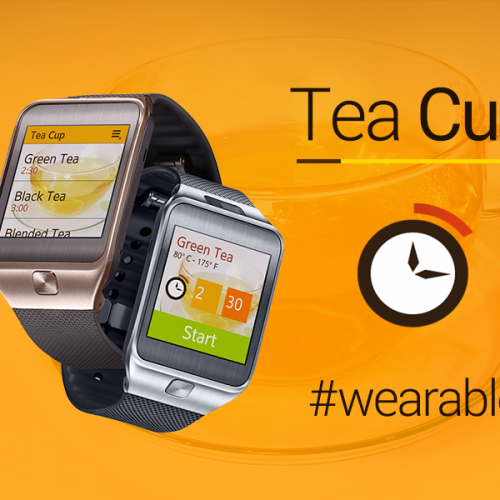 Apps - teacup wearable