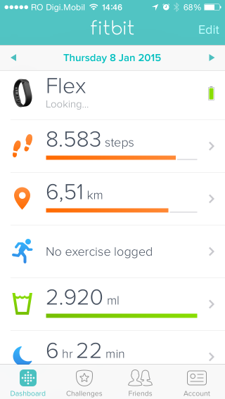 fitness trackers fitbit iOS