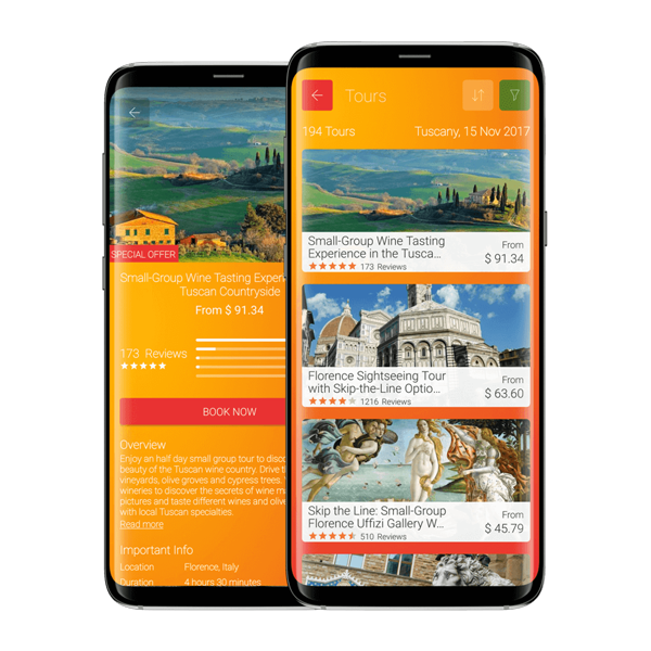 Ready Set Holiday stylish travel app