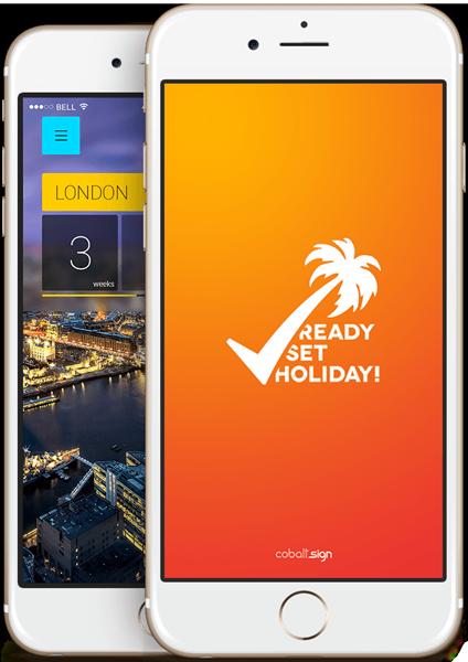 Ready Set Holiday app