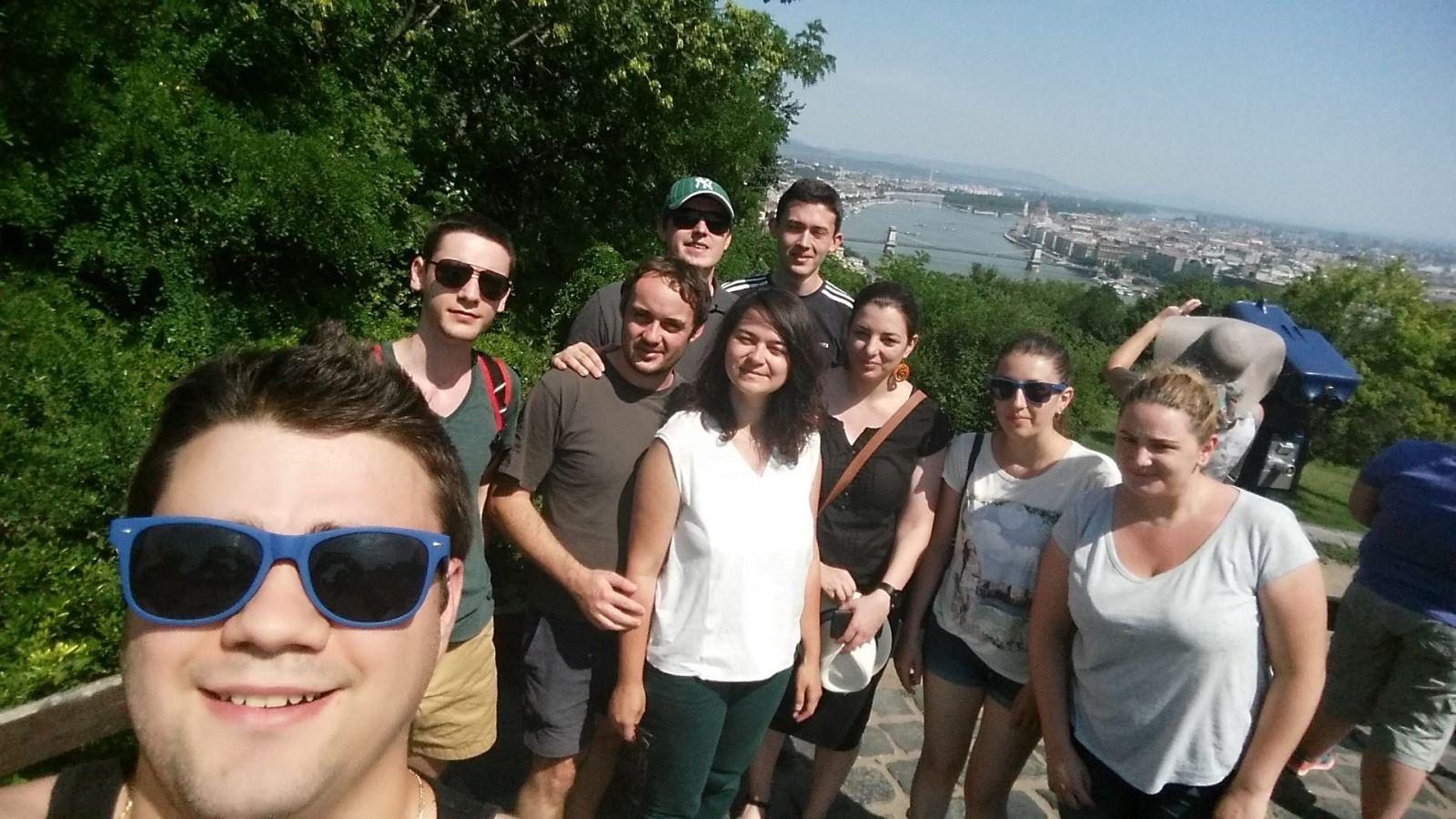 CobaltSign-Budapest-Team Building-Selfie