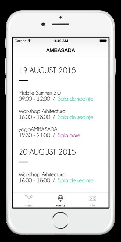 Ambasada app