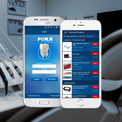 Apps - poka - stomatology app