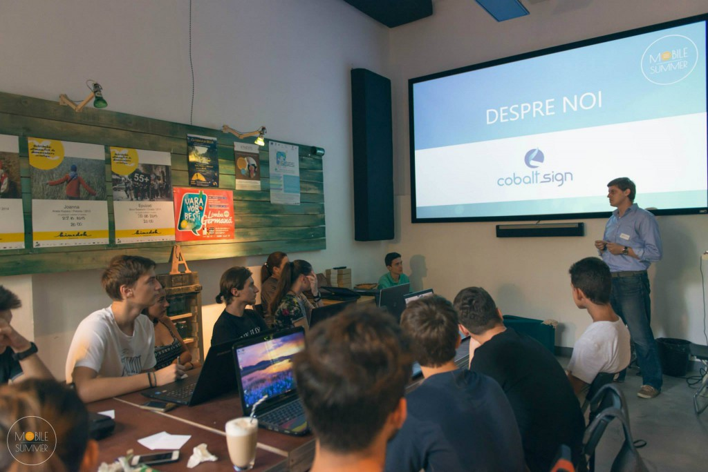 Mobile summer - course - presentation