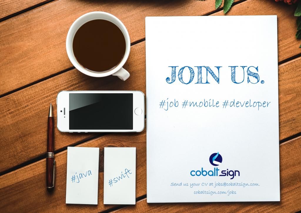 Mobile Developer at Cobalt Sign
