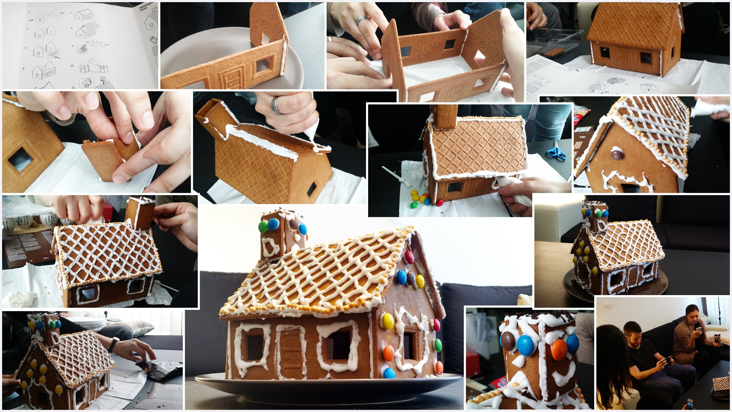 building mobile apps and gingerbread houses @Cobalt Sign