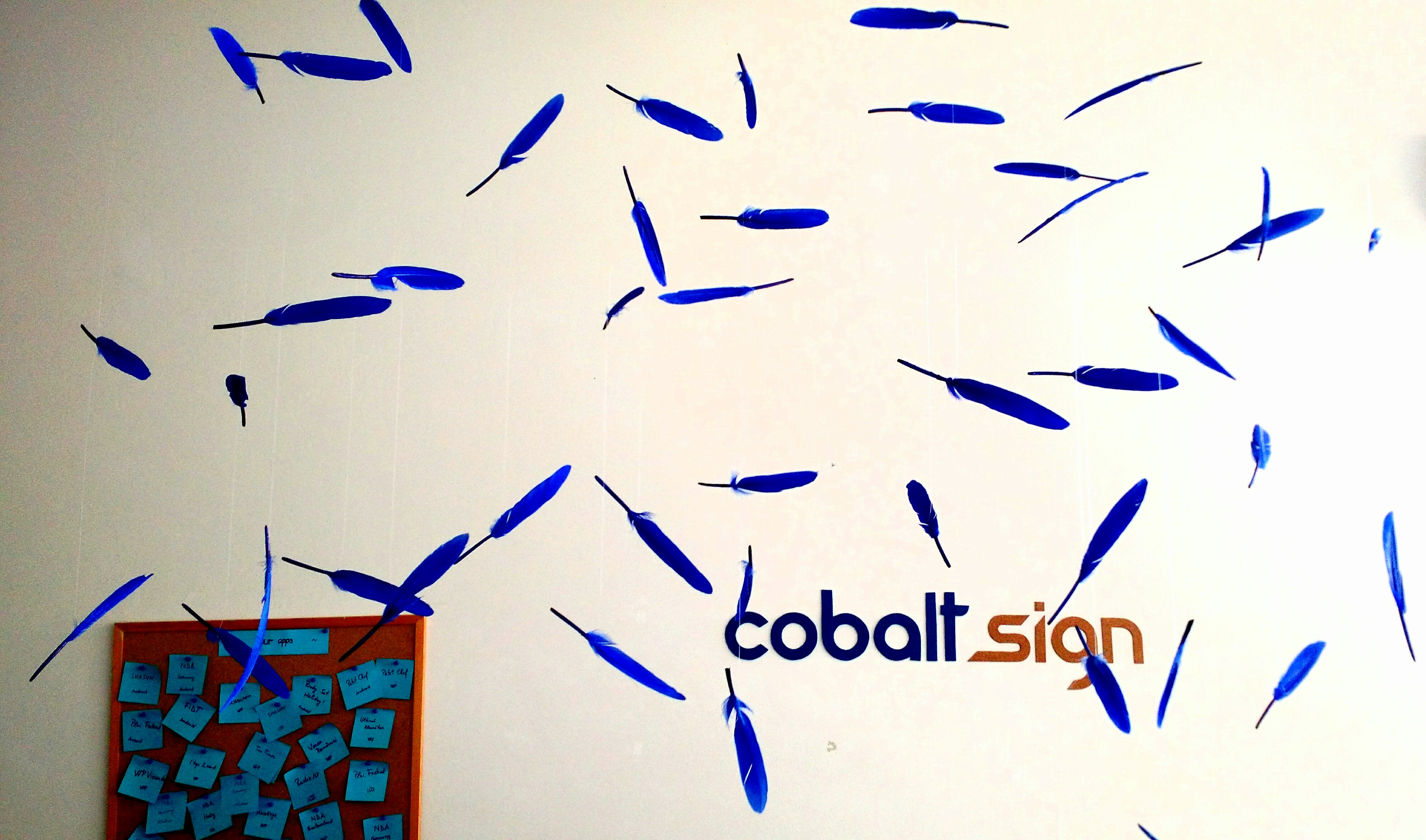 Cobalt Sign decorations 2