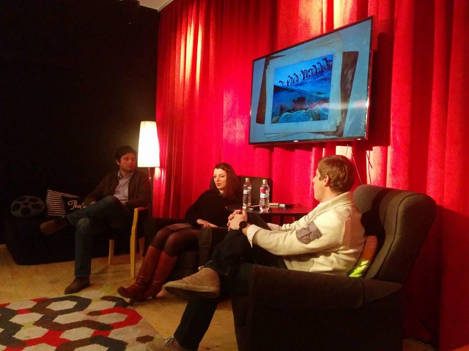 Oana Csertus & Arthur Csertus at Startup Coffee Meetup
