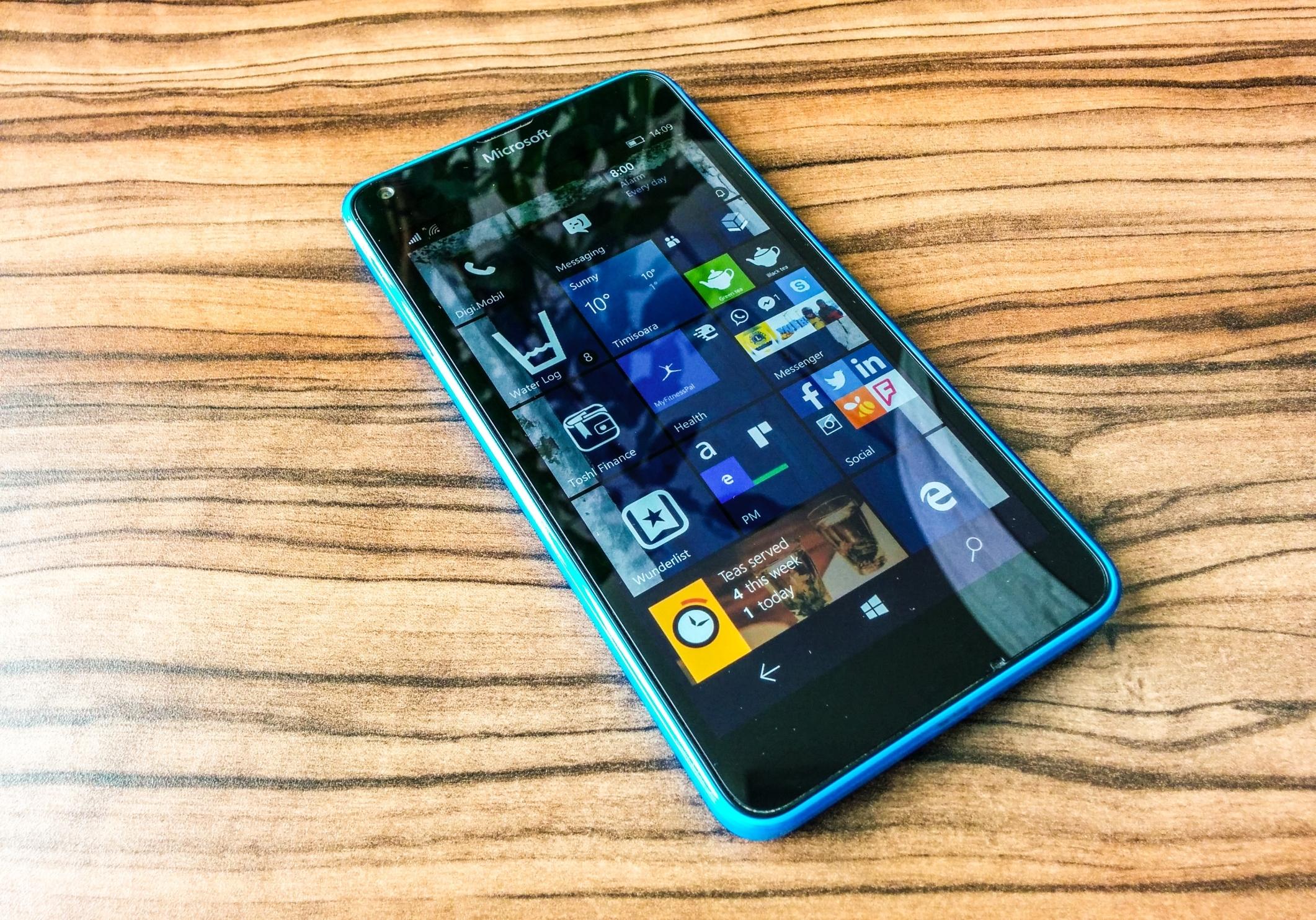 Hello Windows 10 Mobile!