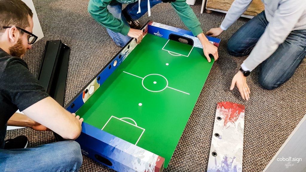 cobalt sign office fussball table