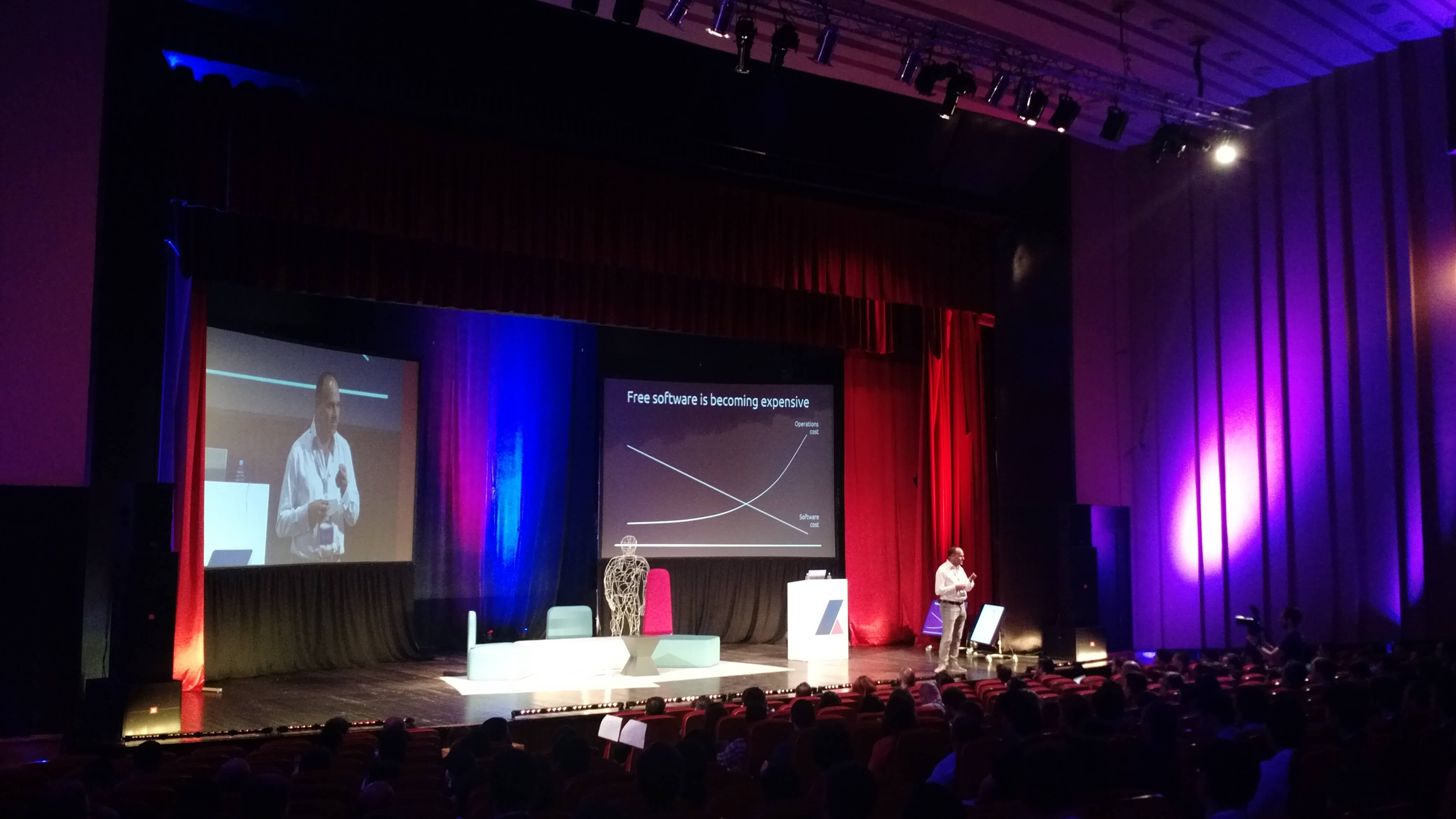 Free software is becoming expensive - conferences