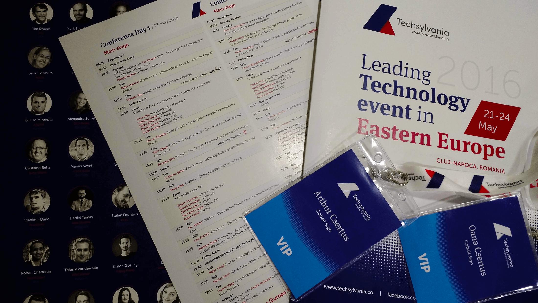 2016 Tech Conferences