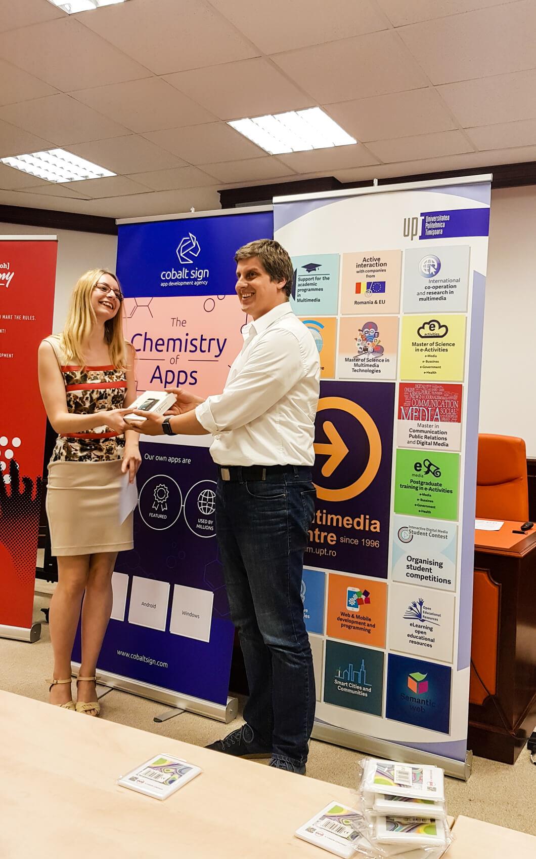 Cobalt Sign partner at the digital media contest-7