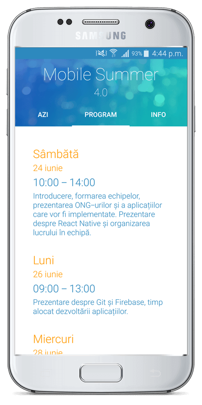 Mobile Summer-program