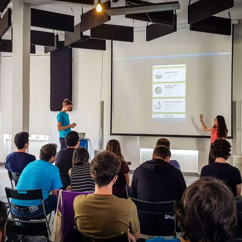 Mobile Summer 4.0 - city apps - app presentations - team alergotura