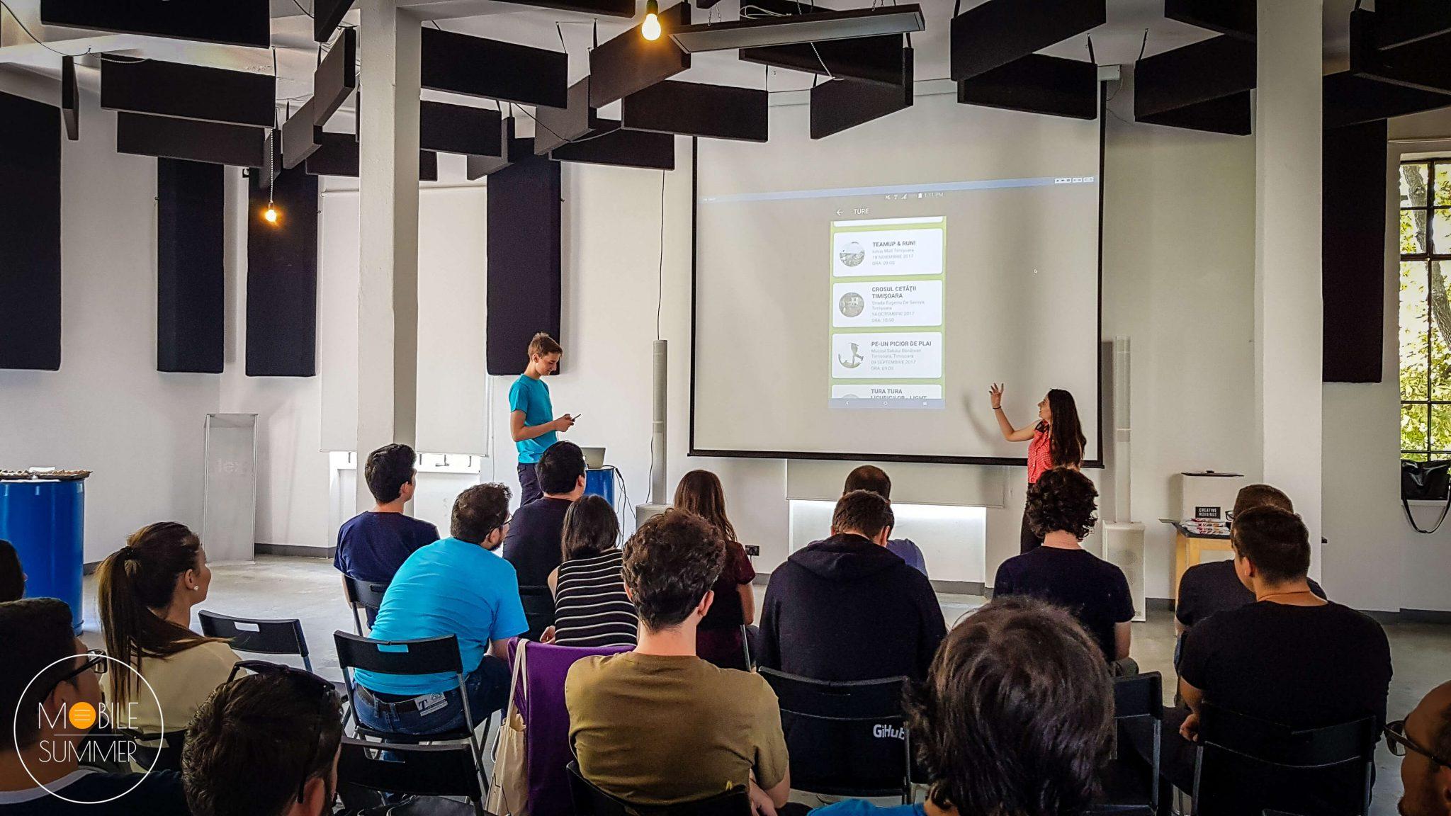 Mobile Summer 4.0 - alergotura - aplicații mobile pro bono