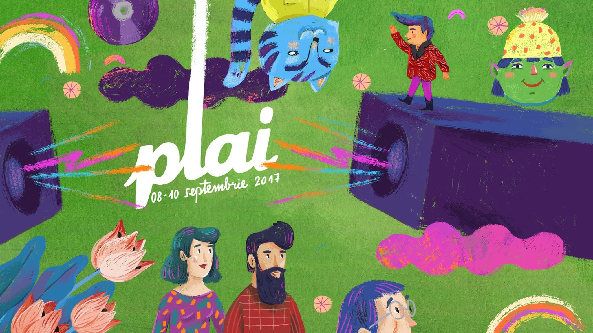 The PLAI Festival app is ready for the 2017 edition