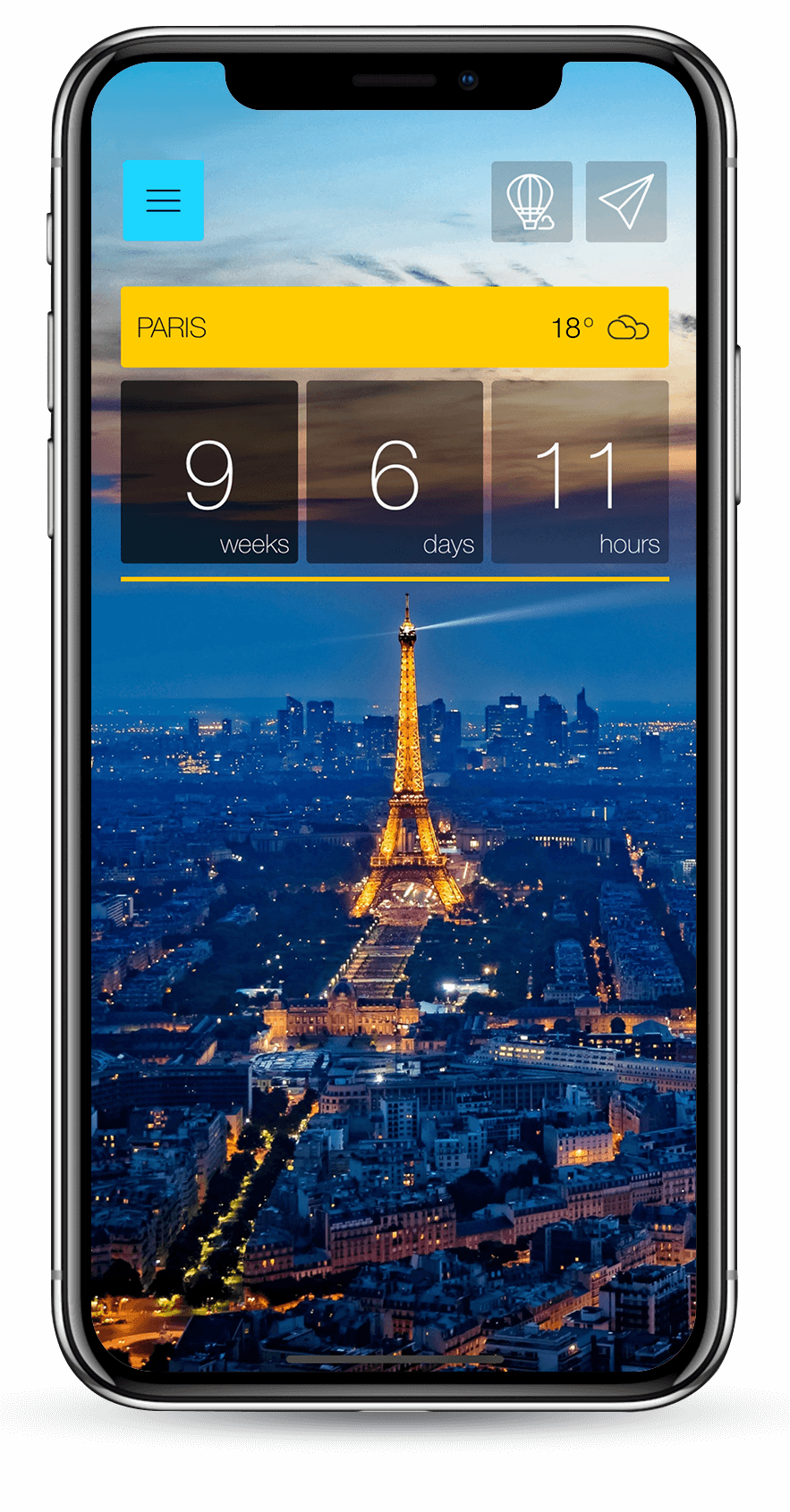 Ready Set Holiday! - Stylish travel app