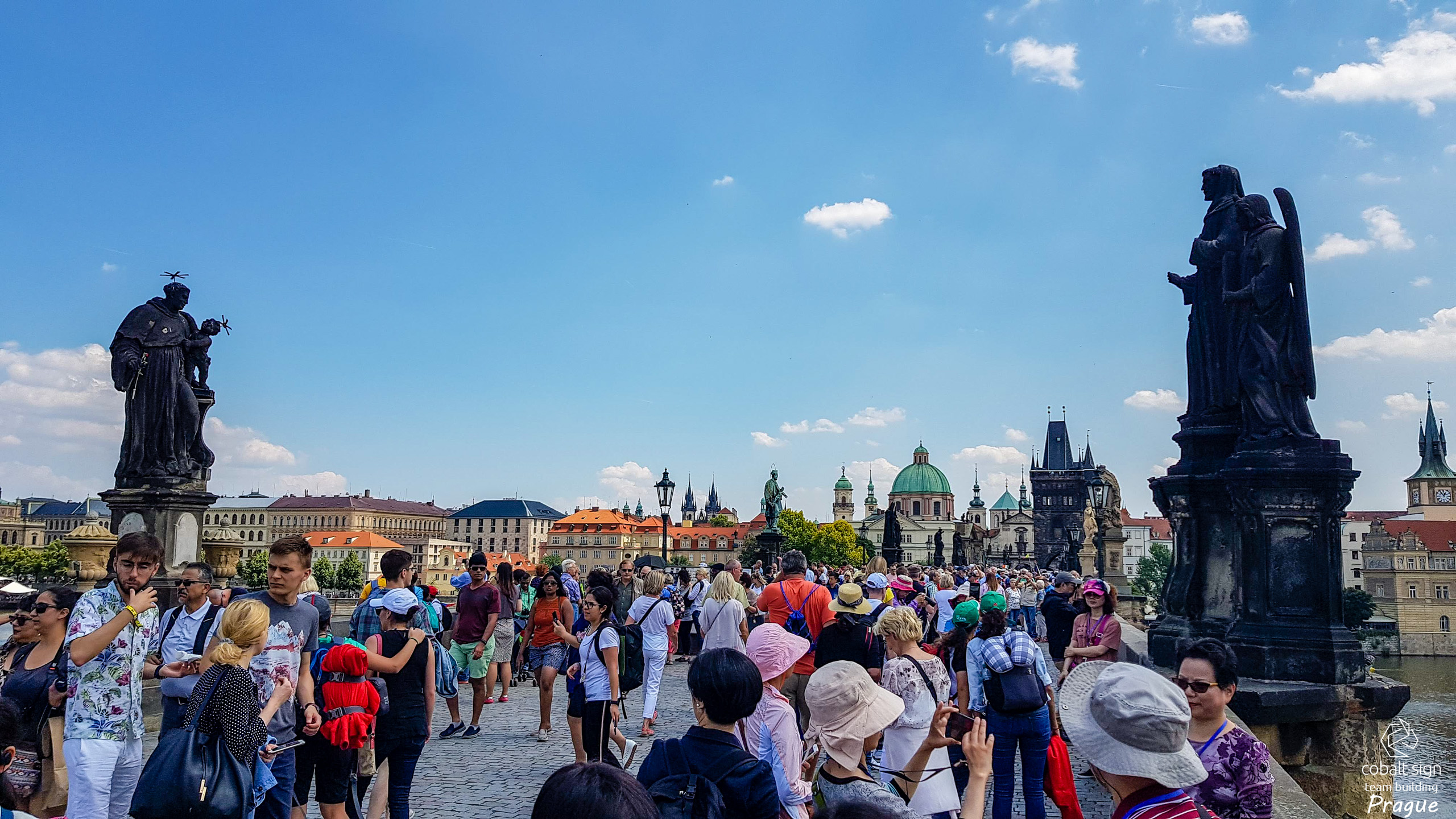 Cobalt Sign Team buildin Prague 2018 - Sightseeing & mDevCamp