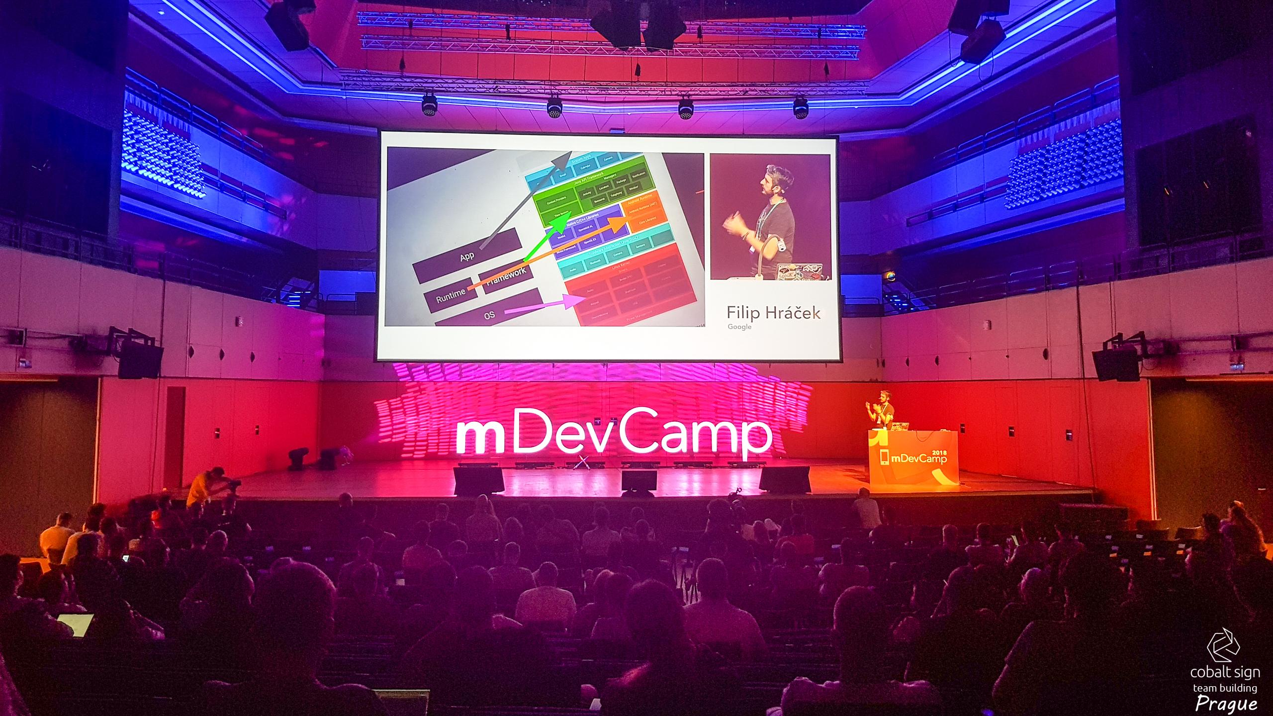 Cobalt Sign Teambuilding Prague - Mobile App Conference mDevCamp - Flutter for Pessimists
