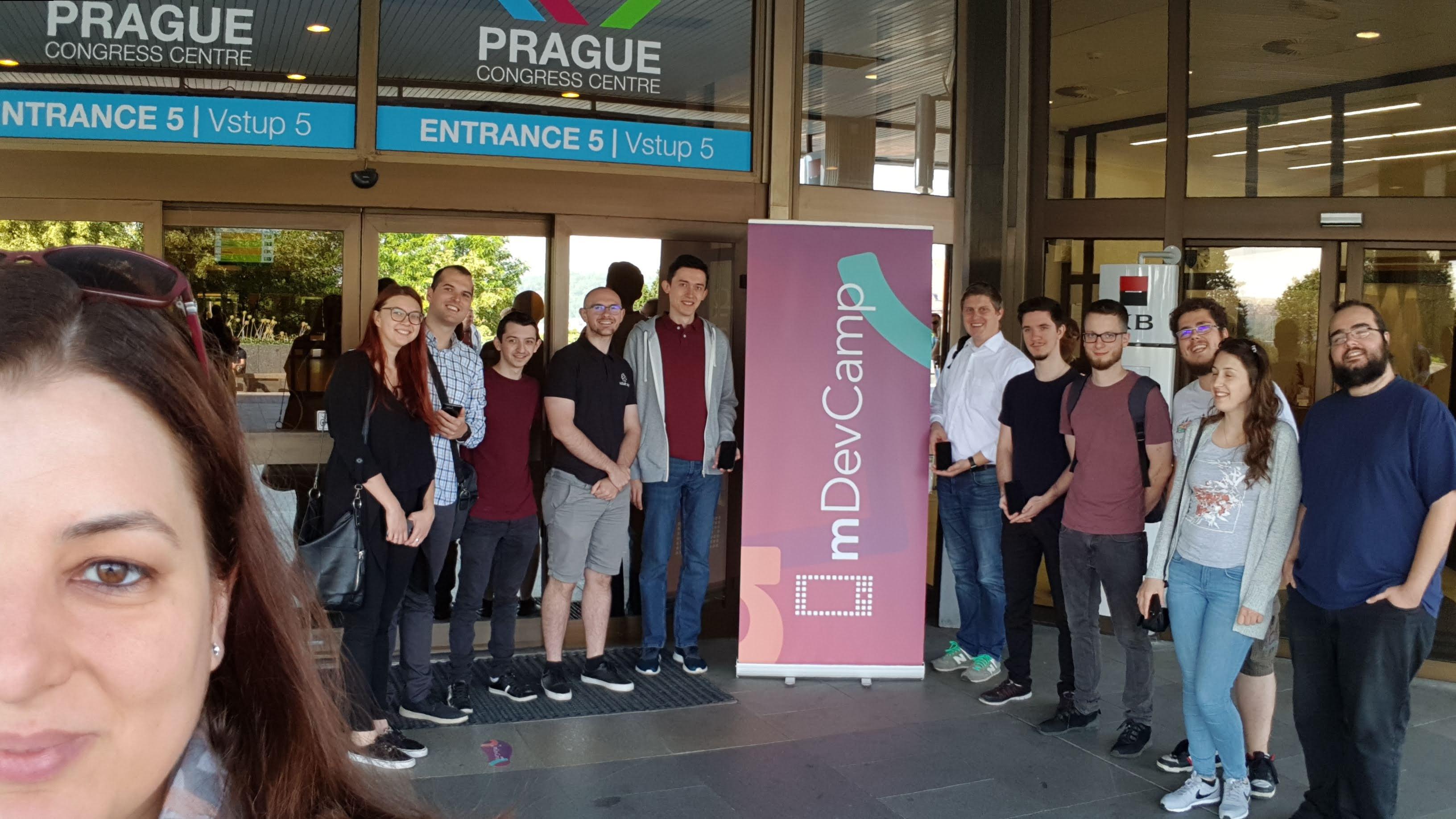 Cobalt Sign Teambuilding Prague - Mobile App Conference mDevCamp