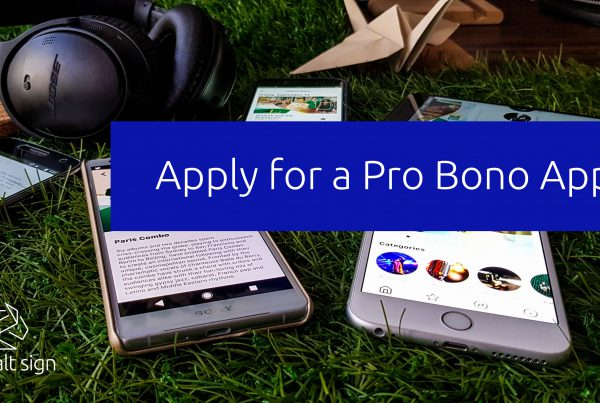 Cobalt Sign - Pro Bono App for an NGO