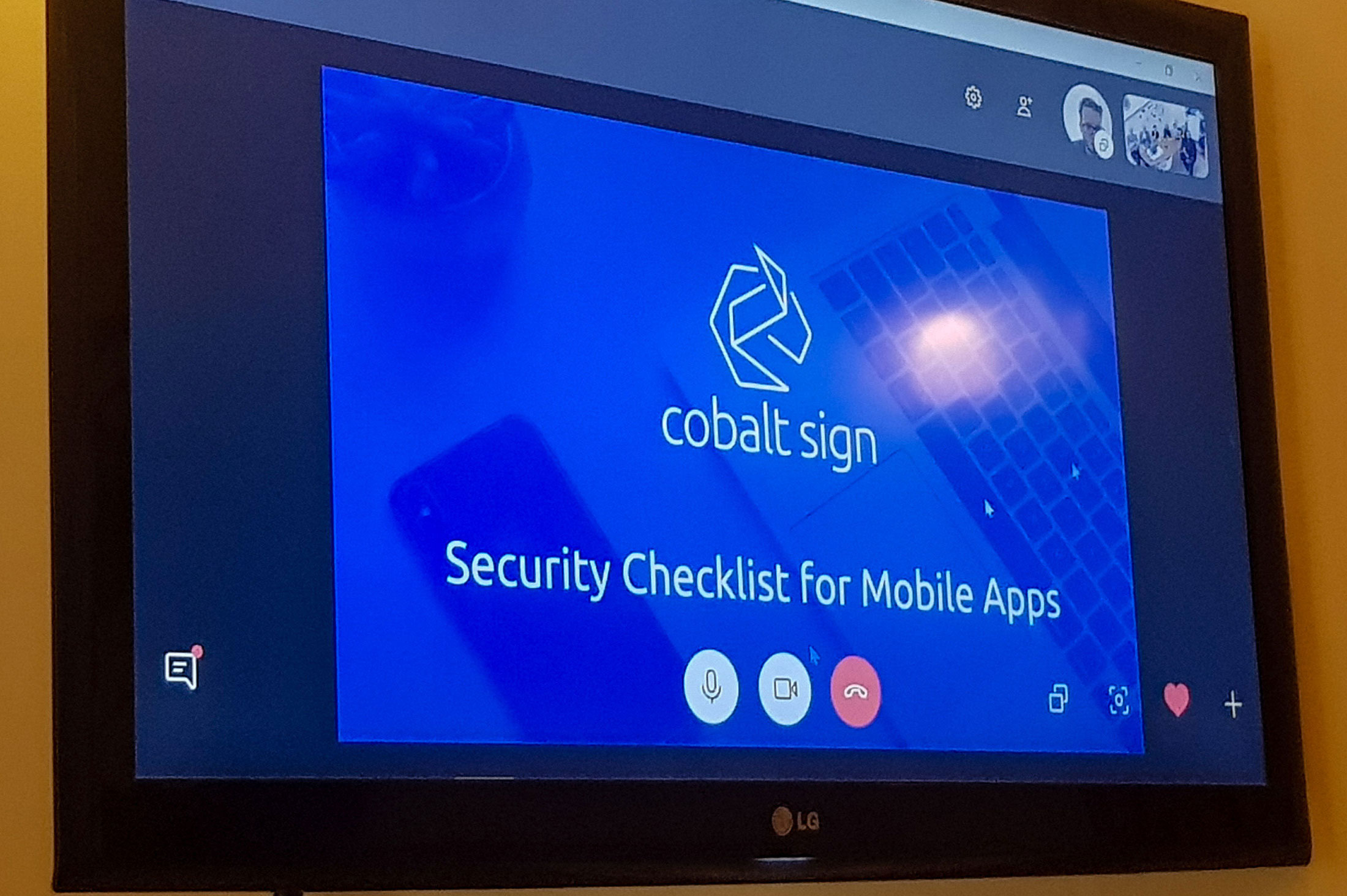 security in mobile apps