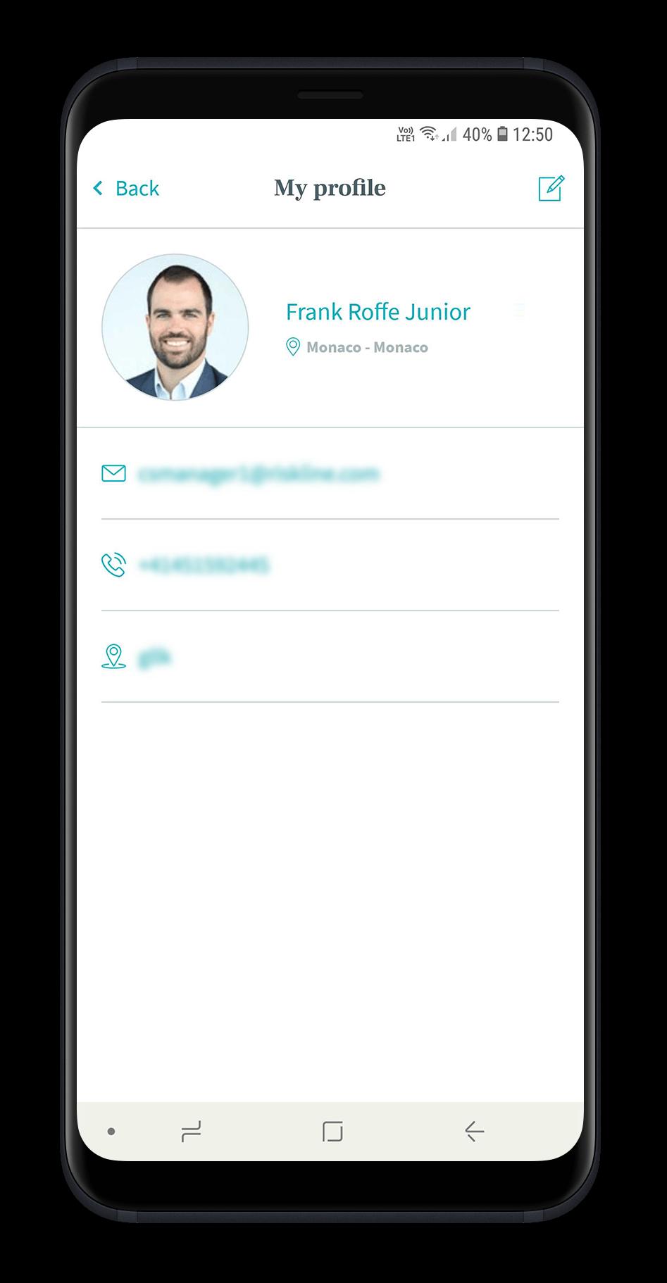 Riskline app
