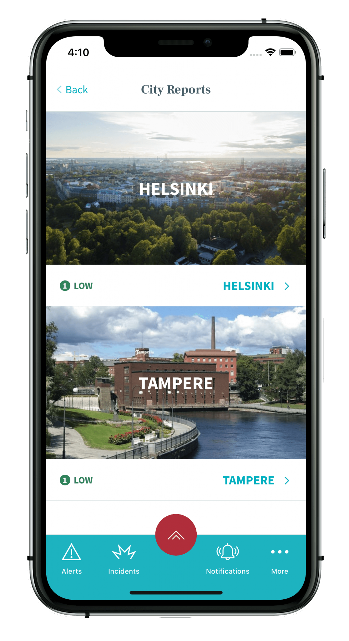 Riskline - Travel risk assesment app