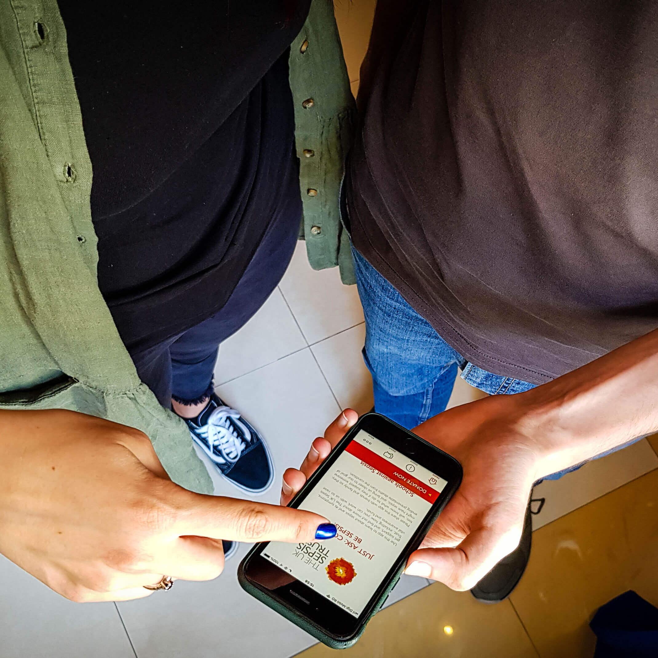iOS/Android app development internship